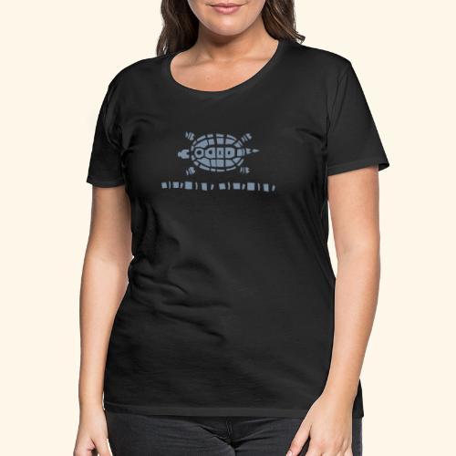 Stein - Schere - Papier Schildkröte - Frauen Premium T-Shirt