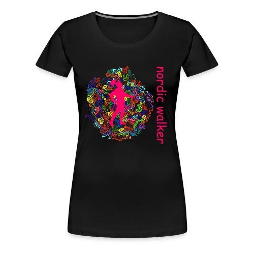 popart_walker_gross_mst_ohg_komp - Frauen Premium T-Shirt