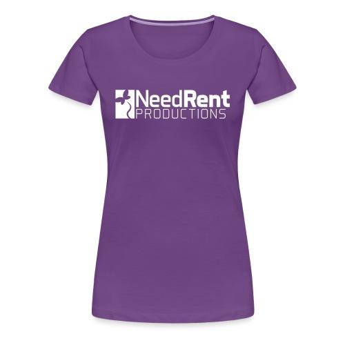 NeedRent Produktions - Dame premium T-shirt