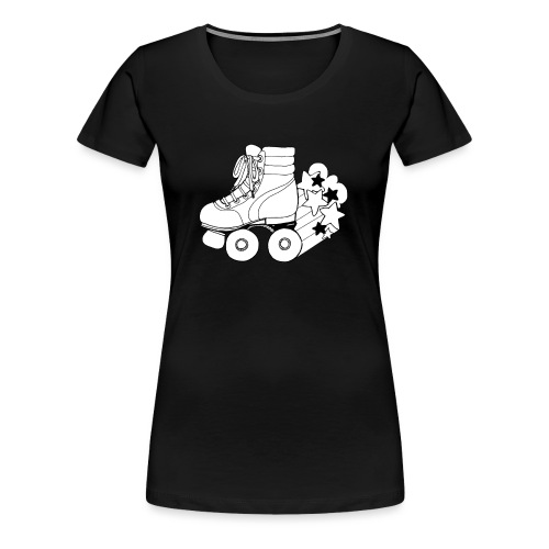 PATINS - T-shirt Premium Femme