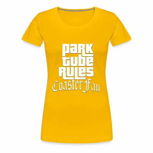 ParkTube Rules GTA Style - Frauen Premium T-Shirt
