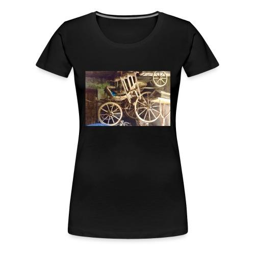 Kutschfahrt - Frauen Premium T-Shirt