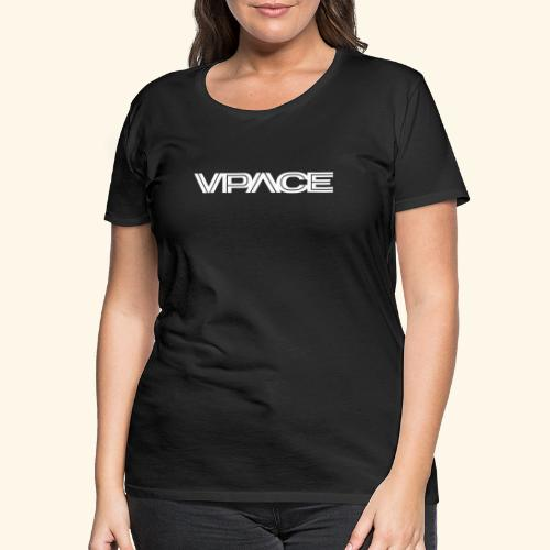 VPACE Logo schwarz - Frauen Premium T-Shirt