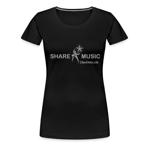 sharemusicv - Women's Premium T-Shirt