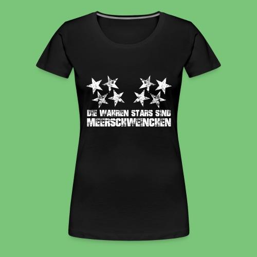 meeri-stars-weiss - Frauen Premium T-Shirt