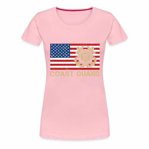 Coast Guard - Frauen Premium T-Shirt
