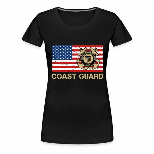Coast Guard - Frauen Premium T-Shirt