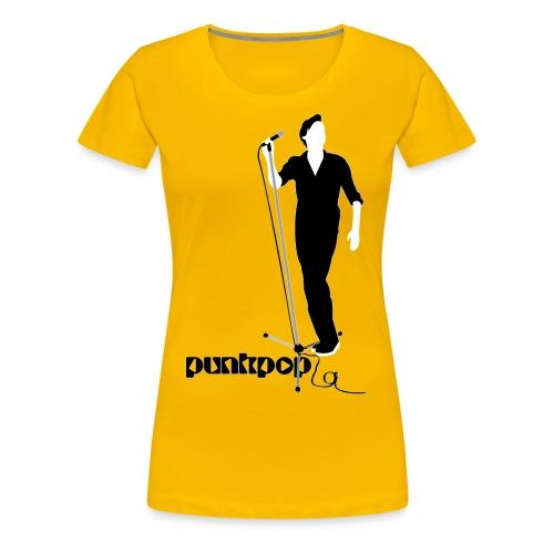 Beautiful Suede PunkPop - Maglietta Premium da donna
