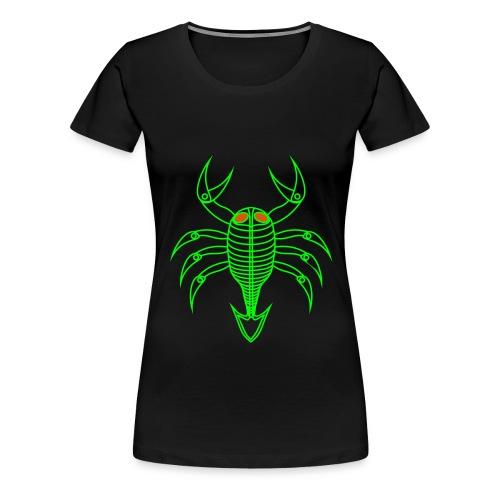 scorpio - Frauen Premium T-Shirt