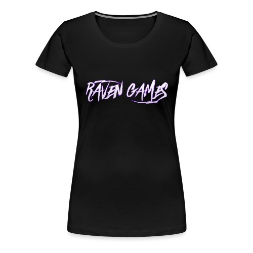 Raven Games Main Logo - Women's Premium T-Shirt
