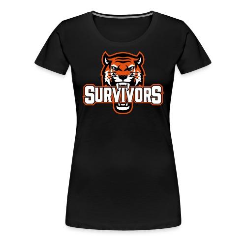 Survivors - Premium-T-shirt dam