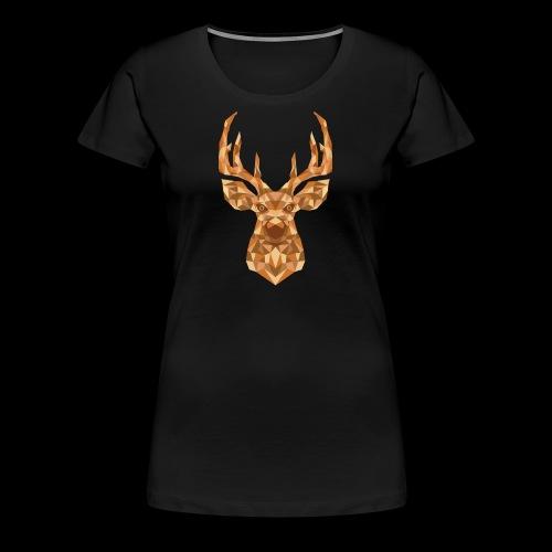 Deer-ish - Koszulka damska Premium