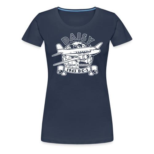 Daisy Globetrotter 2 - Premium-T-shirt dam