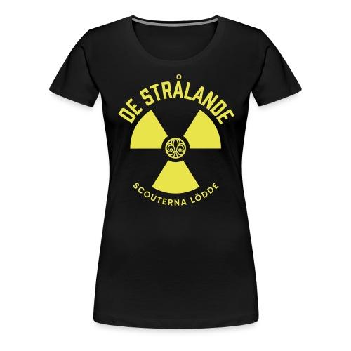 Utmanar Tryck - Premium-T-shirt dam