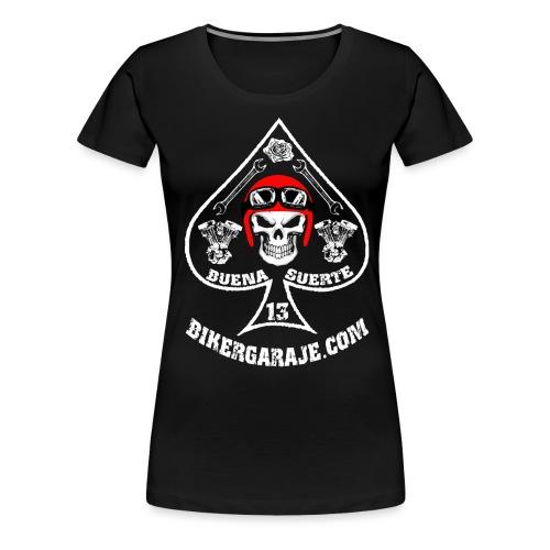 As De Picas Buena Suerte - Camiseta premium mujer