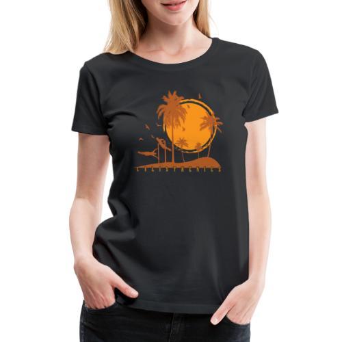 Calisthenics Training Fitness menschliche Flagge - Frauen Premium T-Shirt