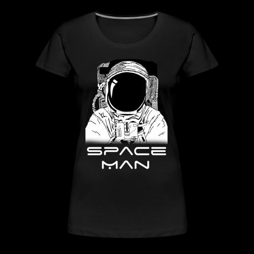 Space man white - Women's Premium T-Shirt