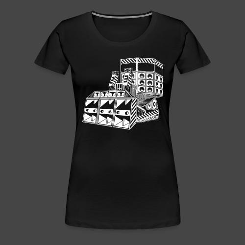 bulldozer 23 - T-shirt Premium Femme