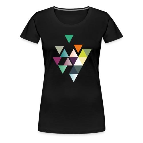 khpp7_Sieben-Burst - Frauen Premium T-Shirt