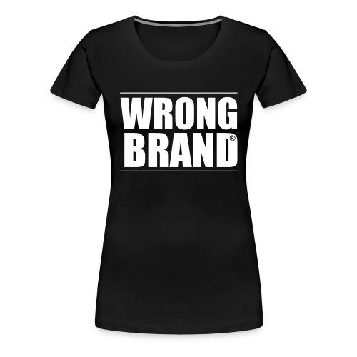 Wrong Brand: the ultimate brand parody - Women's Premium T-Shirt