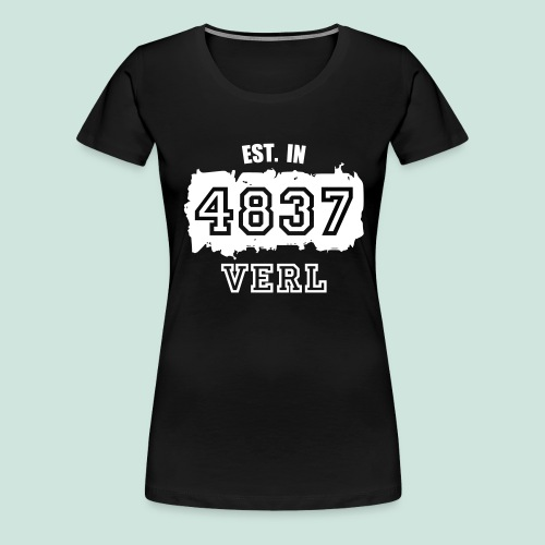 4837 Verl - Established - Frauen Premium T-Shirt
