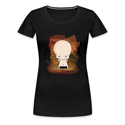 nuda spredshirt 01 - Maglietta Premium da donna
