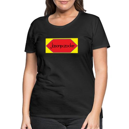 Jasonpczocker Design für gelbe Sachen - Frauen Premium T-Shirt