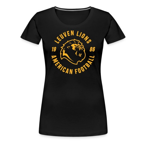 Lions old school gold - Women's Premium T-Shirt