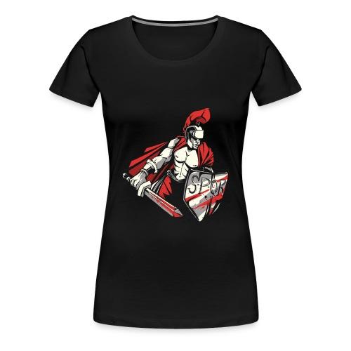 Römischer Soldat Krieger . SPQR - Frauen Premium T-Shirt