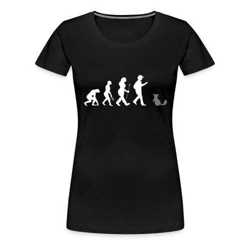 Go real! - Frauen Premium T-Shirt