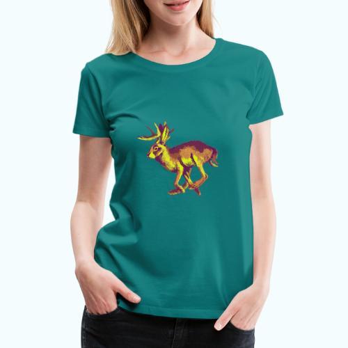 Fantasy Wolpertinger - Women's Premium T-Shirt