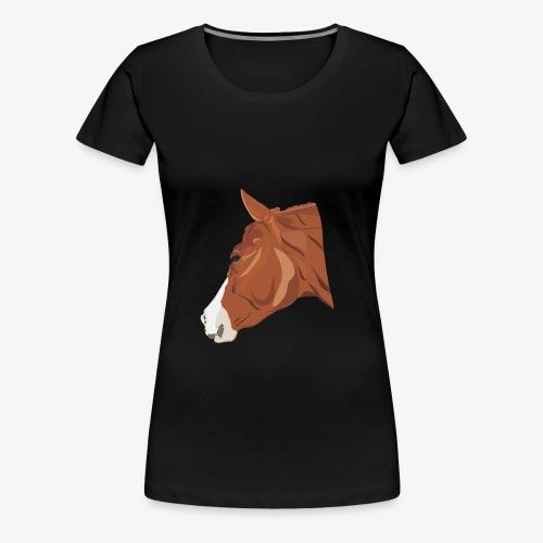 Quarter Horse - Frauen Premium T-Shirt