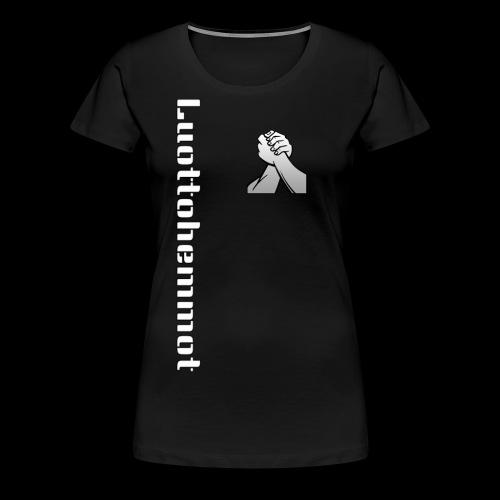 Luottohemmot 2.0 - Naisten premium t-paita