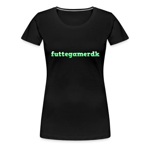 futtegamerdk trøjer badge og covers - Dame premium T-shirt