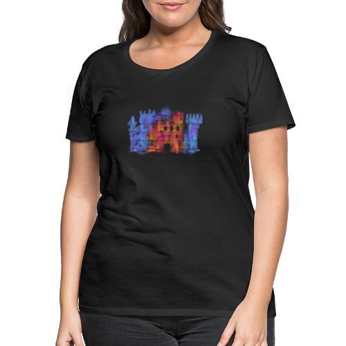 Castle - Premium-T-shirt dam