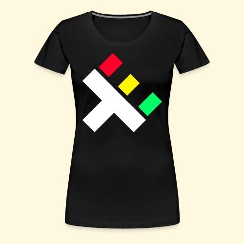 Clan Logo - Rasta - Women's Premium T-Shirt