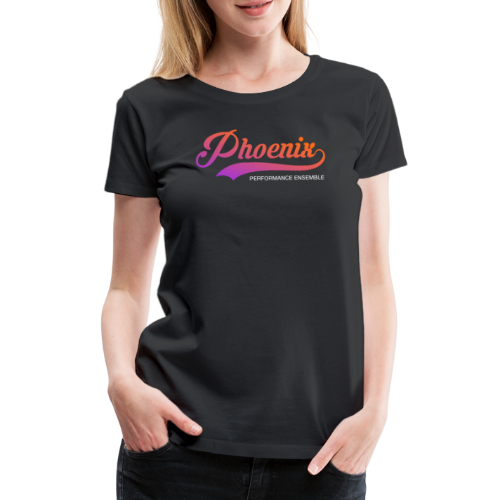 Phoenix Retro Color - Frauen Premium T-Shirt