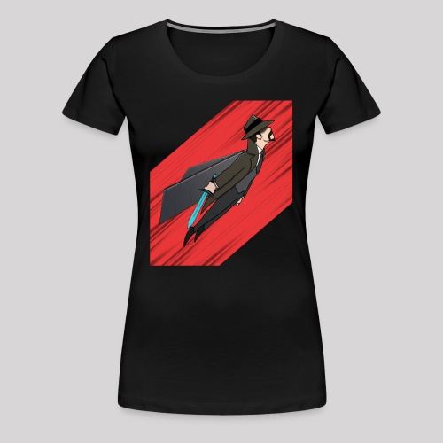 Flying SoftisFFS - Premium-T-shirt dam