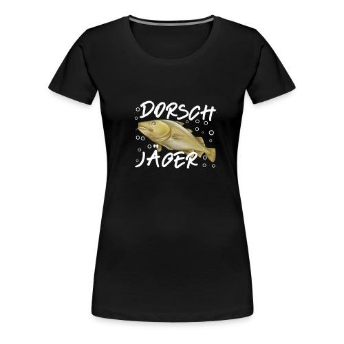 cod Dorsch Jäger Hunter Geschenk Angler - Frauen Premium T-Shirt