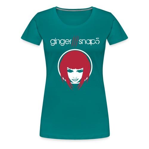 gs5_tshirt_name_face_blac - Women's Premium T-Shirt
