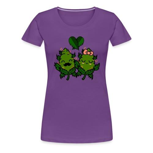 Mr & Ms Weed Nug - Camiseta premium mujer