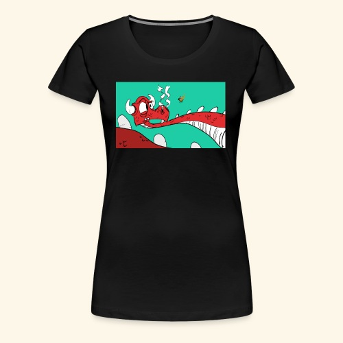 008 Dragon - Women's Premium T-Shirt