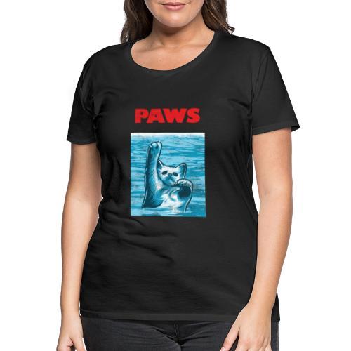 Katzen Paws Horror Film Parodie - Frauen Premium T-Shirt