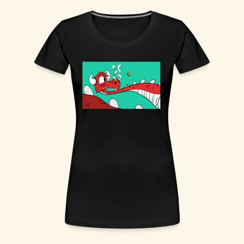 008 Dragon - Women's Premium T-Shirt