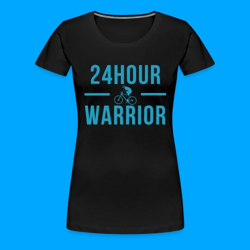 24hour Warrior - Frauen Premium T-Shirt