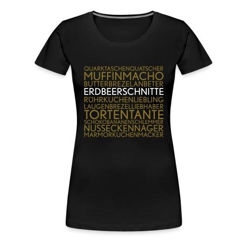 butterbrezelbaggerer - Frauen Premium T-Shirt