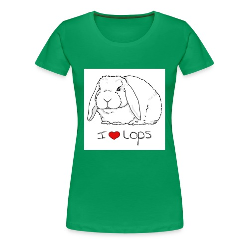 I Love Lops 2 - Women's Premium T-Shirt