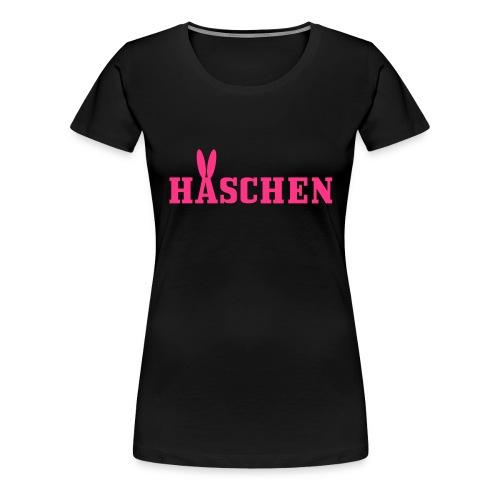 Häschen mit Öhrchen - Frauen Premium T-Shirt