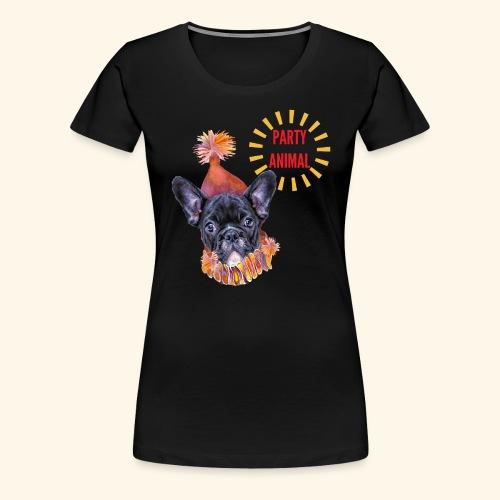 French Bulldog Party - Women's Premium T-Shirt