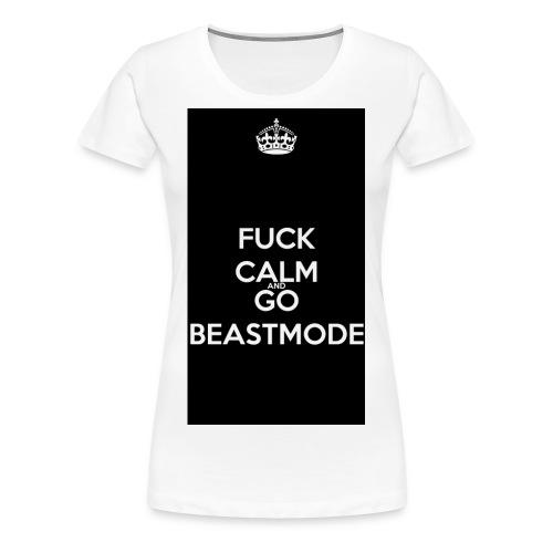 Go Beast-Mode - Women's Premium T-Shirt